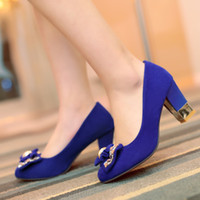 low heel dress shoe - Spring Autumn Rome Style Low Platform Women Thick Heel shoes Fashion Pumps Ladies Casual Dress Shoes Sexy High Heels Pumps