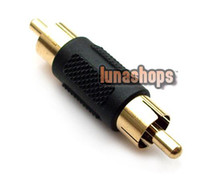 Wholesale RCA AV Male To Male Audio Video Connector Adapter
