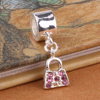 Wholesale G031 sterling silver DIY Beads Charms fit Europe pandora Bracelets necklaces Package glcapcja ilbarcia