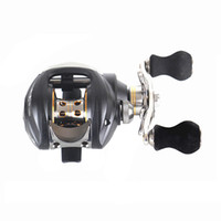 Wholesale 11 BB Left Hand BaitCaster Fishing Reel Ball Bearings One way Clutch High Speed Pesca