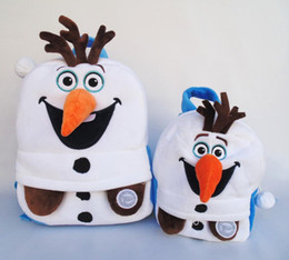2015 Olaf School Bags Cute Backpack Hot Pupils Backpacks Bag For Children Kids Bag Schoolbag Mochila Bolsa