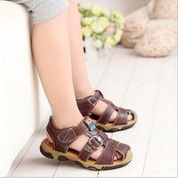 ae boy - New Arrival Summer boys sandals Casual Breathable Fashion Closed toe Children Sandals Boys Shoes AE LN
