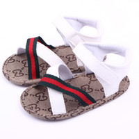 Wholesale New Summer Baby Boy s Sandal Fashion Male Newborn Sandal Brown White First Walker shoes