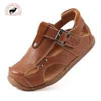 beef trade - foreign trade original children s shoes children s Sandals boys sandals in beef soft non slip sandals