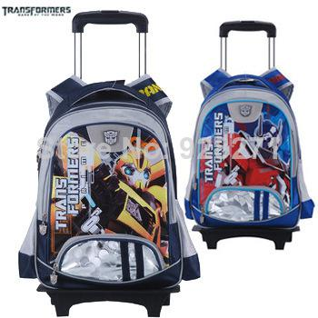 Trans Kids Trolley School Bags Boys Children School Wheeled ...