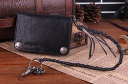 Wholesale-NEW 2015 Guard against theft Waist Chain Wallets,Trend Leather Vintage Wallet For Men Design,Soft Leather Wallet Unisex