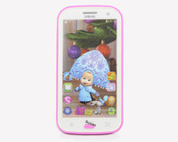 babies and cell phones - Spanish Language Masha and Bear toy Baby phones Electronic toys for Children Musical toys Smallest cell phone Children s phone