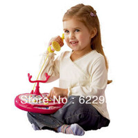 abs development - ABS plastic Polaroid princess telephone toy musical instrument girls early development educational toys Hot SALE