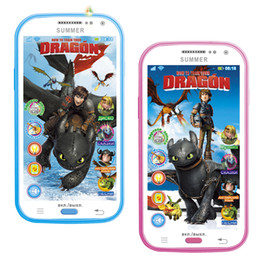 Wholesale 2015 Mobile Toy Phones Russian Language Learning amp education Toys Talking Y phone Toy kid s Electronic music player toy For Baby