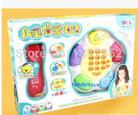 Cheap Free shipping baby educational toys   young children cell phone   music phone will tell the story 6 months to 1 year old