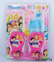 Wholesale Original Children Princess Toy Walkie Talkies Diecasts Funny Toys For Children Gift