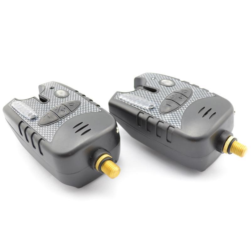 Wholesale-Carp Fishing Bite Alarm Bite Indicator with 8 direction LED for Carp Fishing buy 2 get 3