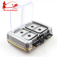 abs tool box - Top Quyality g cm ABS Plastic Fishing Tackle box Fishing Bait Box Waterproof Flies Box Fishing Tool Fishing Tackle
