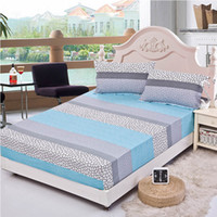 bedspread cotton yarn - bedding rubber sheet elastic bed cover summer mattress cover cushion cover bedclothes bedspread water culb bed sheet piilowcase