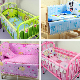 Wholesale sets baby bedding set cotton cm curtain baby cot sets customizable juego de cama bed bumper