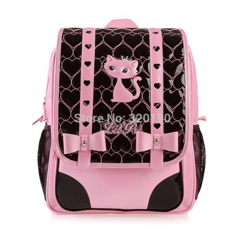 Paris Cat Cute Girls Children School Bags,Fashion Children ...
