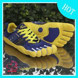Wholesale Los hombres frescos de los zapatos del deporte al aire libre de atletismo cinco dedos de los pies Komodo LS deporte zapatos de la aptitud de los dedos libres descalzos de excursión el envío libre del zapato