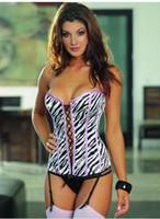 Cheap Tops sexy lingerie Best Women Corset & Bustier satin bra