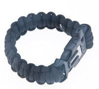 band container - Survival Armband Paracord Bracelet Band Flint Fire Starter Whistle for Outdoor Camping Ferramentas