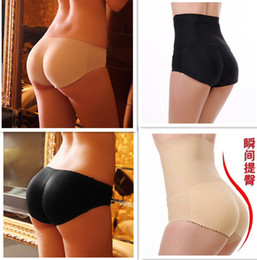 Free shipping, lady's A hip pants Bottom Seamless underwear strengthen hip fake ass fake hip buttock Padded Triangle Pants brief