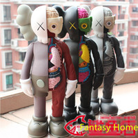 resin figure - Kaws Action Figure Original Fake Companion Inch Kaws Color Action Figure Resin Toy Doll With Box