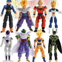 anime - set dragon ball z action figures Dragonball Z Goku DBZ Anime Vegeta Kid Toy