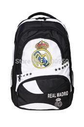 Wholesale Real Madrid Football Club Cristiano Ronaldo Gareth Bale Karim Benzema Dedicated football backpack Backpack