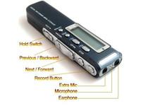 Wholesale New Black GB G digital voice audio telphone recorder MP3 player