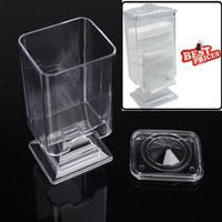 acrylic nail holder - Acrylic Nail Art Remover Paper Wipe Holder Container Storage Case make up nail styling tools Sets Kits Makeup Cotton Pad Box