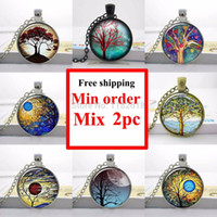 willow tree - Mix order Weeping Willow Tree Necklace Photo Pendant Jewelry Altered Art Pendant Glass Dome Glass cabochon