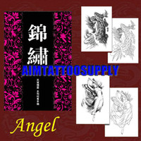 Cheap New tattoo flash Jin xiu 5 Angel and Sprite tattoo books A3