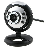 Wholesale 6 LED PC Webcam with Mic win7 bits PC Camera Computer Camera