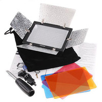 Wholesale DHL YN LED Video Light with Filters for Camera Camcorder For Nikon Sony Canon D619