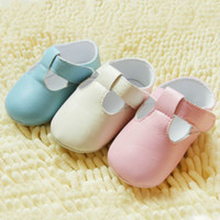 crib shoes - Baby Girls Shoes Infant Toddler PU Leather Crib Shoes Soft Prewalker SIZE