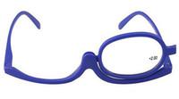 Wholesale Makeup Magnifying Glasses Degree of Women Folding Reading Cosmetic Glasses Eyeglasses for female Make up Eye