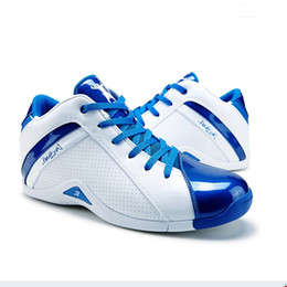 Wholesale 2015 Allen Iverson Basketball Shoes Male Iverson Sneakers Sport Shoes Leather Upper Mid Men s Basketball Shoes
