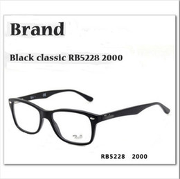 Wholesale new fashion RB5228 brand eyeglasses frame optical eye glasses framework reading glasses spectacle frame YJ12