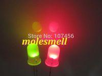 bi color leds - mm Dual Bi Color Polar Changing Red Green Led Diffused Leds Pin led