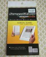 Wholesale For Amazon Kindle kindle3 eBook LCD Screen Protector Guard Ward Film with retail packing