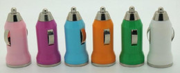 100pcs lot*1000MA New Mini Universal USB Car Charger Adapter for PDA Cell Phone Mp3 MP4