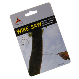 Wholesale-Commando Wilderness Outdoor Survival Steel Wire Scroll Saw