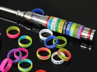 Wholesale E cigarette Anti slip Silicon Rubber Band Vape Rings For Mechanical Mod Decorative And Protection Vape Mod Ecig Accessories
