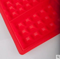 baking tray for microwave oven - New holes high temperature resistance silicone waffle chocolate DIY tray mold maker suit for microwave oven baking