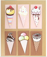 assorted christmas cards - Ice Cream Greeting Card With Envelopes Birthday Cards Christmas Cards Assorted