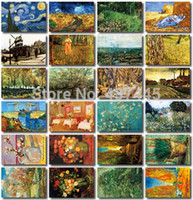 artists greeting cards - The artist series Van Gog creative postcard set Christmas Cards Postcard Gift Multipurpose Greeting cards