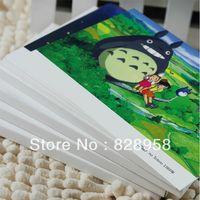 animation desktop - New Retro Postcard Miyazaki Hayao Animation B Classical Vintage Greeting Card Christmas Postcards Desktop Decoration Gift Box