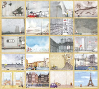 assorted greeting cards - 36 My Travel Stories Postcard Greeting Card Assorted Birthday Cards