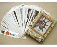 architectural samples - New set Euramerican architectural travel postcard Paper greeting card ss