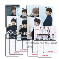 album posters - postcard set pieces Korea album card bts bangtan boys BTS Boy In Luv No More Dream bts album bts poster
