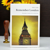 best paper for business cards - 2015 Rushed Remember London Papers Packed Picture Postcard Greeting Card set Business Cards Best For Wishes